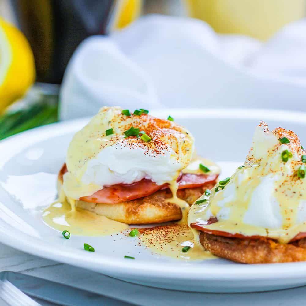 Classic eggs benedict recipe recipe for hollandaise