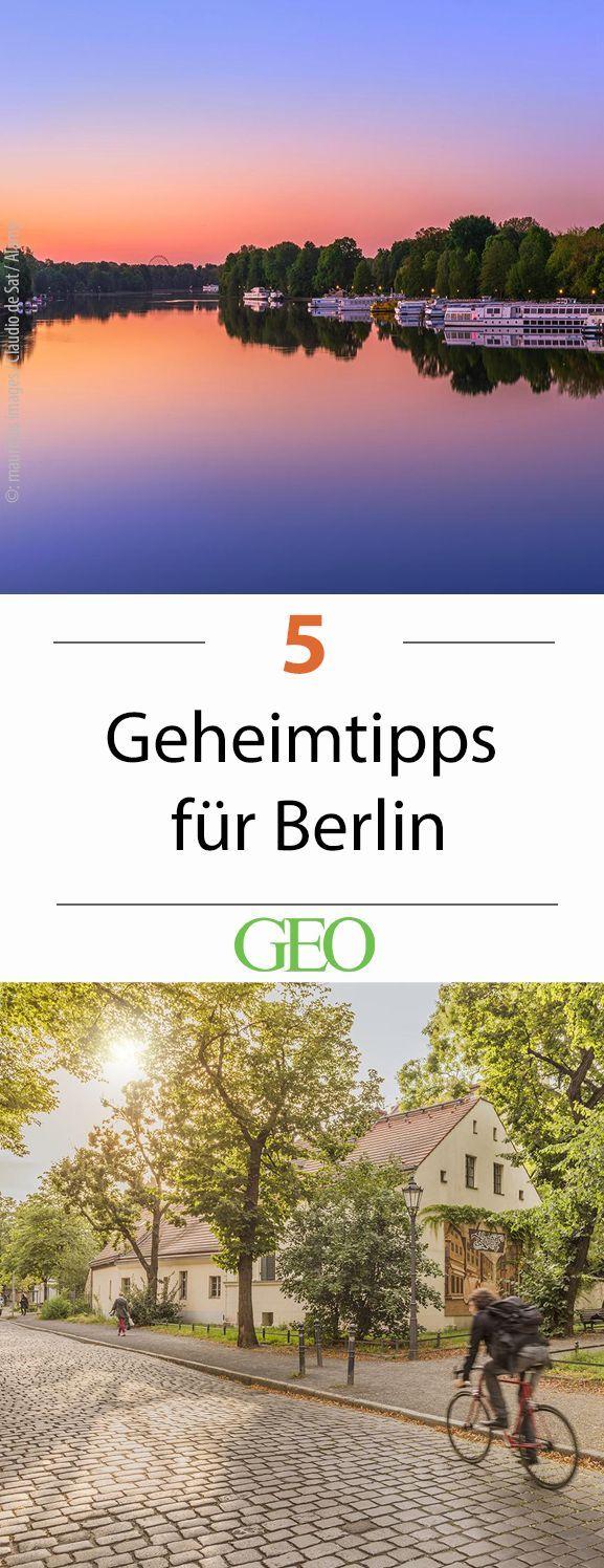 Berlin: Fünf Geheimtipps für die Hauptstadt | Berlin reise ...