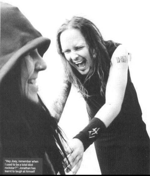John Davis (Korn) and Joey Jordison   Korn, John davis ...