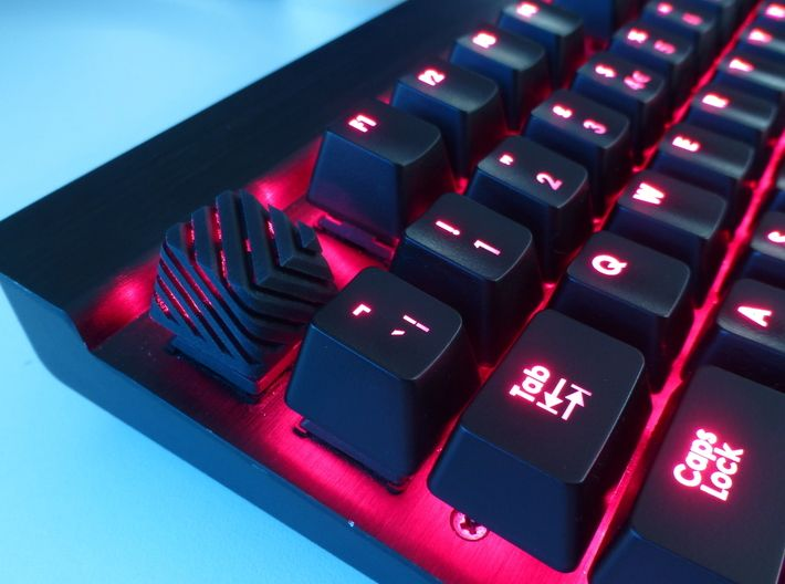 Sliced Cherry MX Keycap by Tasker on | Gaming Setup in 2019