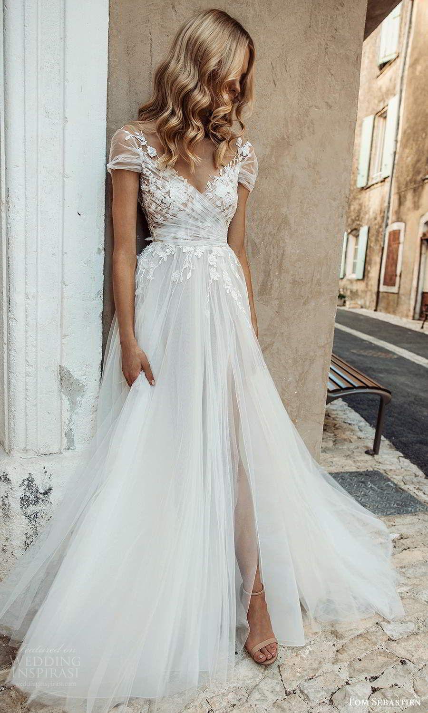 "Tom Sébastien 2021 ""Provence"" Wedding Dresses"