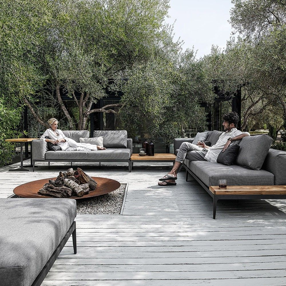Unique garden furniture Lawn Customise Your Own Unique Outdoor Space By Combining With Coordinating Gloster Lounge Furniture To Complete The Look In Style Pinterest Customise Your Own Unique Outdoor Space By Combining With
