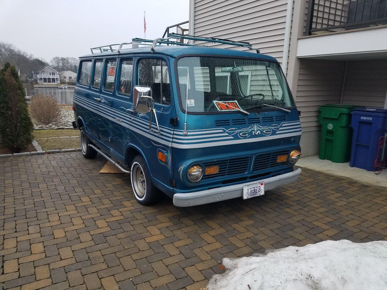 Beach Ready: 1969 GMC Sportvan