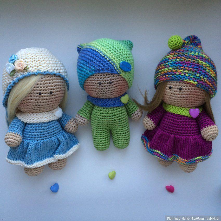 e8f37c3b230 Вязаные куклы   Вязанные куклы крючком и на спицах своими руками   Бэйбики. Куклы  фото. Одежда для кукол