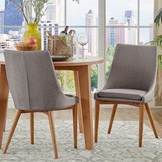Shop For Sasha Oak Barrel Back Dining Chair Set Of 2 Inspire Q Impressive Dining Room Furniture Outlet Stores Design Decoration