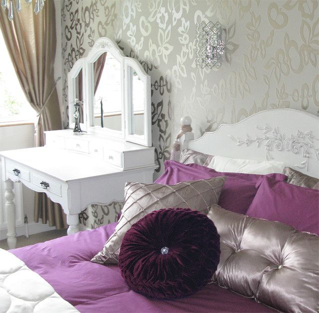 Glamourous bedroom makeover - Modern - Bedroom - Dublin - by Style ...