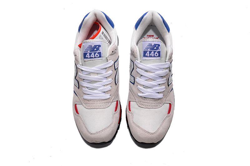 perjudicar entusiasta Mente  New Balance 446 Men's White Running Shoes NB446 | New balance shoes, New  balance, Grey new balance