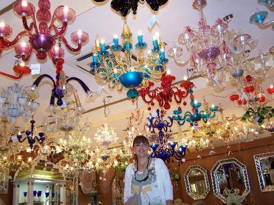 lamparas de colgar echas de cristal de Murano | Lamparas | Pinterest ...