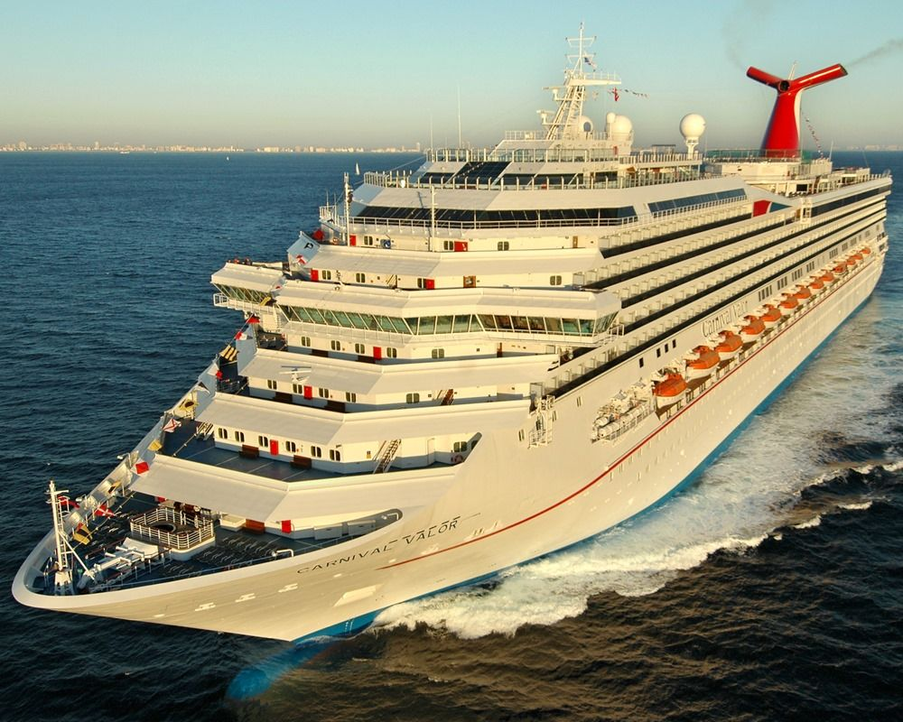 Carnival Valor cruise ship itinerary schedule, 2018-2019 ...