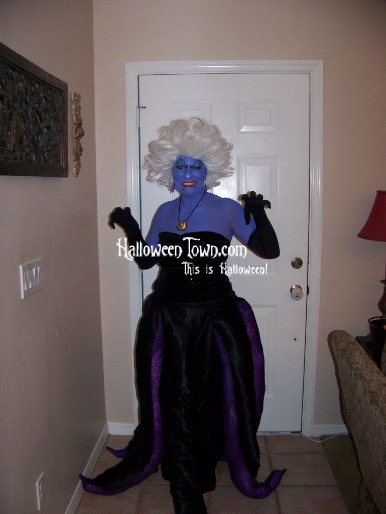 Ursula the Sea Witch - Little Mermaid - Halloween Town | Little ...