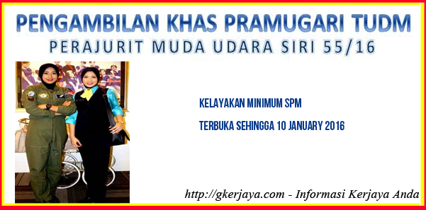 Pengambilan Khas Pramugari Tudm Pramugari Malaysia