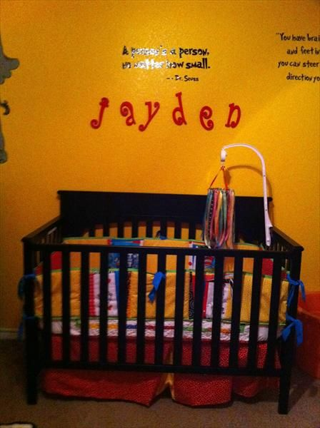 Dr. Seuss for Jayden
