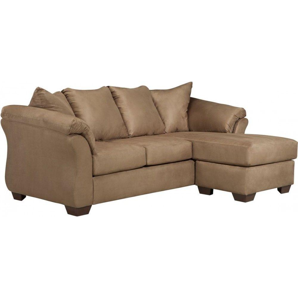 Ashley Furniture Darcy Sofa Chaise In Mocha