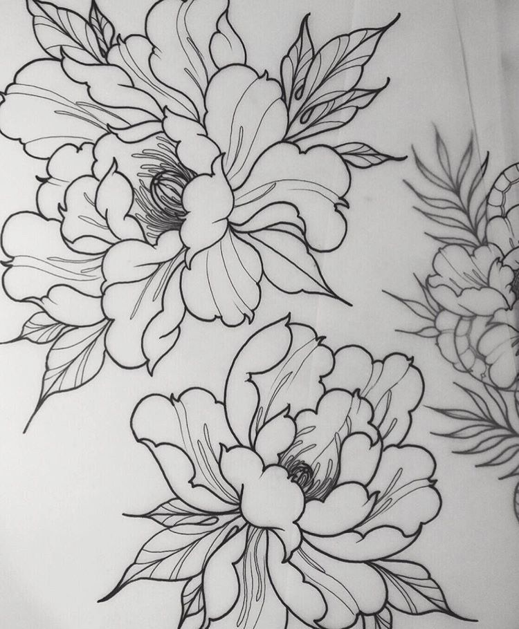 Peonies Tattoo Peonies Tattoo Tattoo Ideas Tattoos Sleeve Tattoos Ink Tattoo Designs Tattoo A Tatuaje De Peonias Flores Japonesas Tatuajes Produccion Artistica