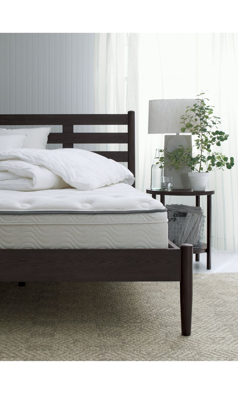 Barnes Smoke Brown California King Bed - Crate and Barrel ...