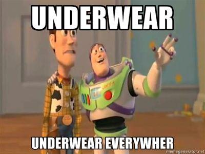 Funny Underwear Meme : Thankfully he wore underwear that day imgur