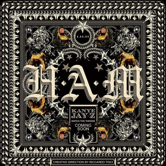 Kanye West X Jay Z H A M Single Cover Art By Riccardo Tisci Highsnobiety Jay Z Jay Z Kanye West Cover Art