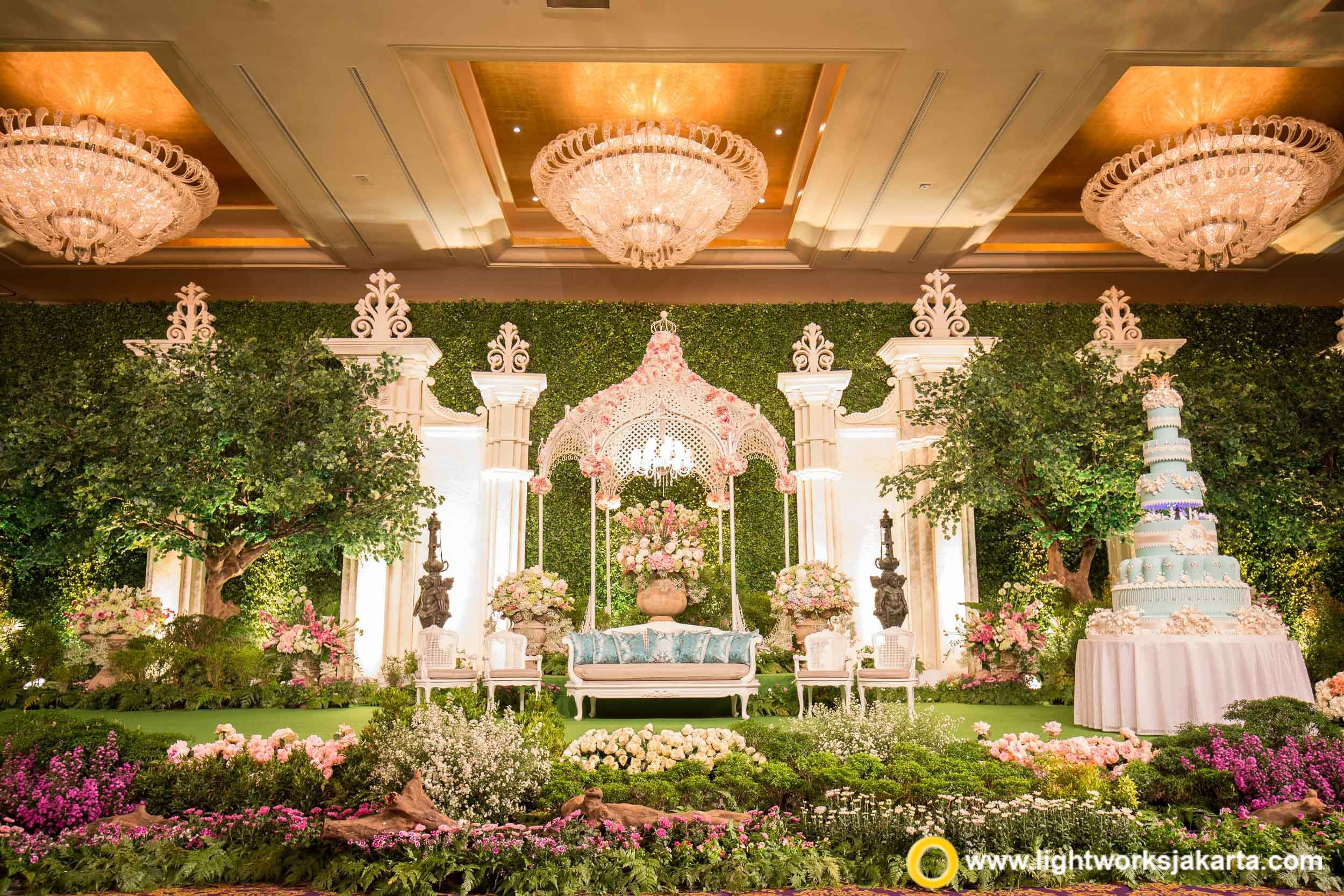 Garden Themed Wedding Reception Ideas Zandalusnet