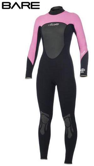 bc0f5b94fc BARE Womens 3 2mm Ignite Wetsuit Pink  129.95