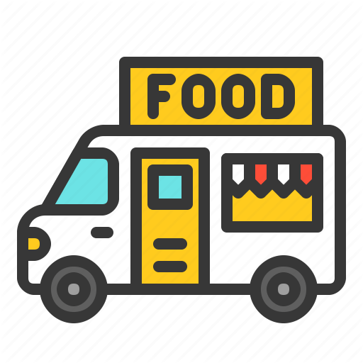 Commerce Fast Food Food Shop Transport Truck Icon Download On Iconfinder Truck Icon Car Toy Car