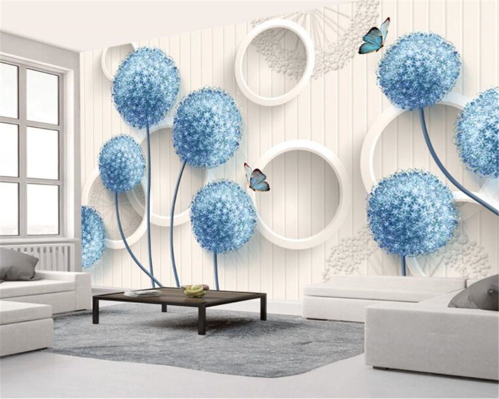 beibehang Custom room living room background 3D