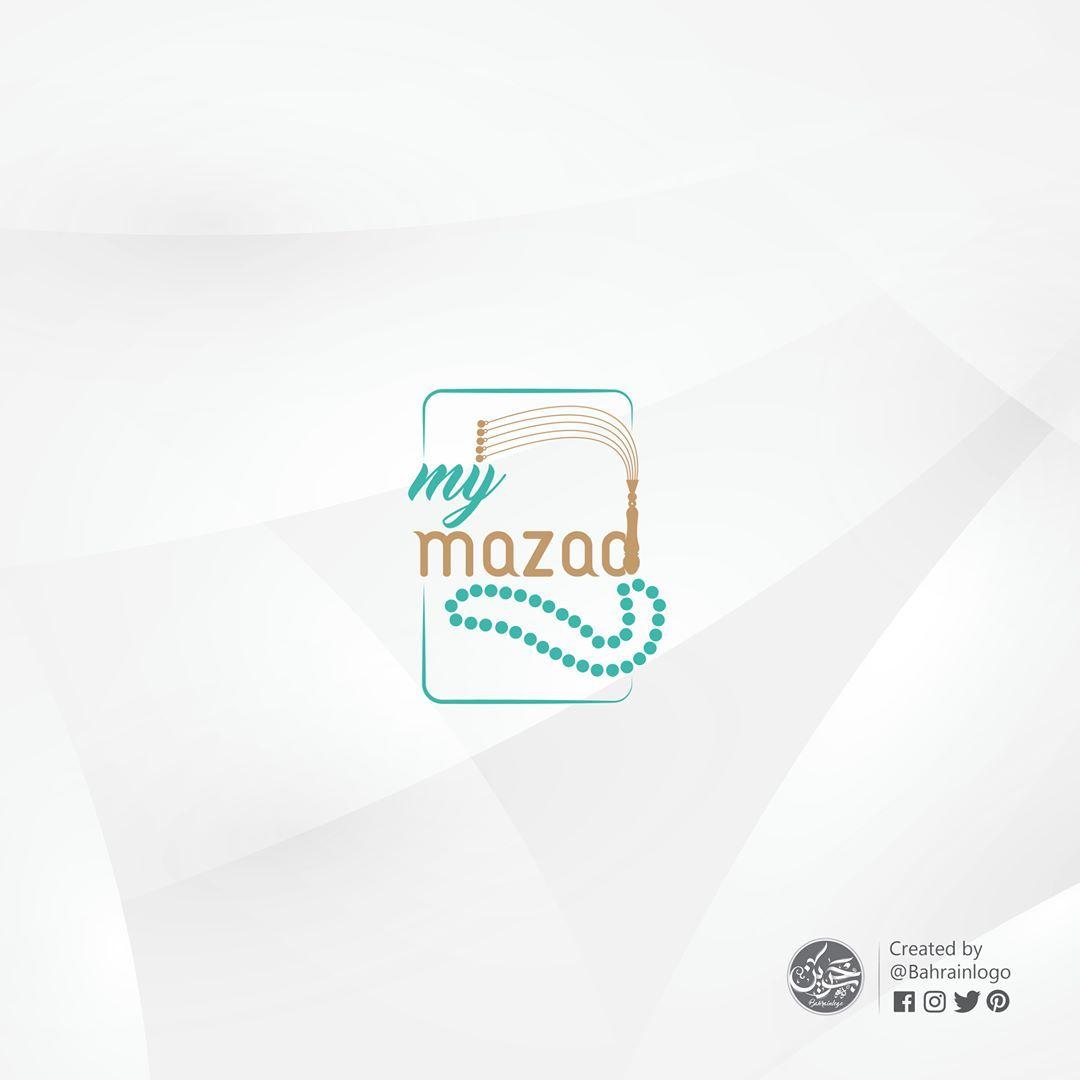 31 Likes 8 Comments Logo Bahrainlogo On Instagram مشروع My Mazad حساب متخصص في عمل المزادات على المسابيح تم التركيزعلى حرف الـ D وبرزة بشكل الشا Logos