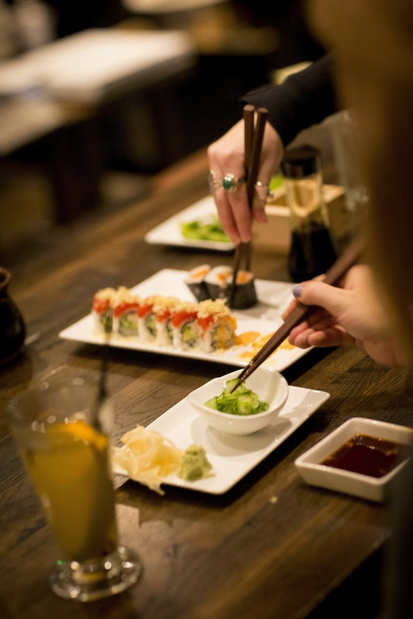 Bamboo Sushi Portland Oregon Is The First Certified Sustainable Restaurant In World Offering Best Fish And Produce