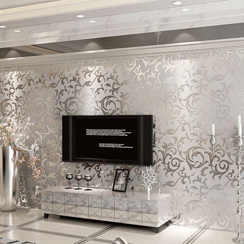 Barato europeu 3d sala papel de parede quarto sof tv for Papel pared barato