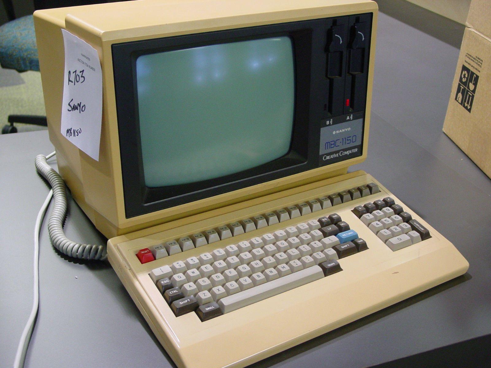 Sanyo MBC-1150 vintage computer | Vintage Computers