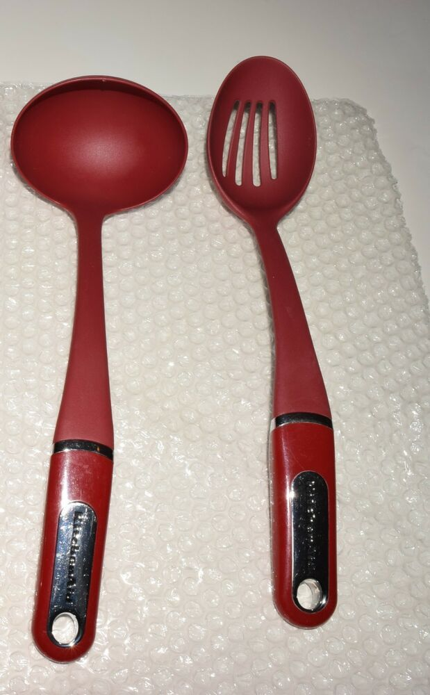 Details About Kitchenaid Empire Red Cooking Utensils Choose Style