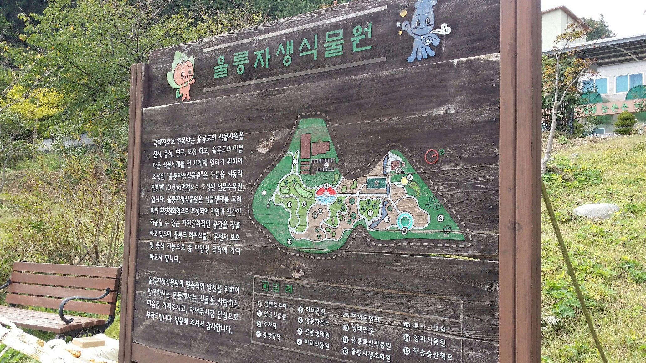 울릉자생식물원