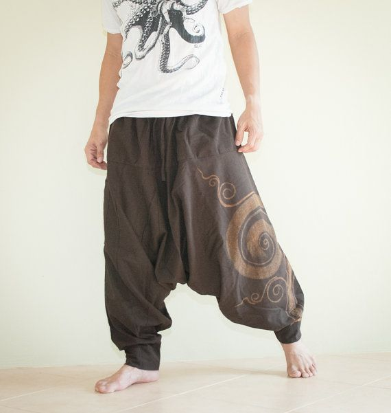 Hippie Pants Baggy Pants Ethnic Pants Asian by AmazingThaiStore ... 424c70ca4747