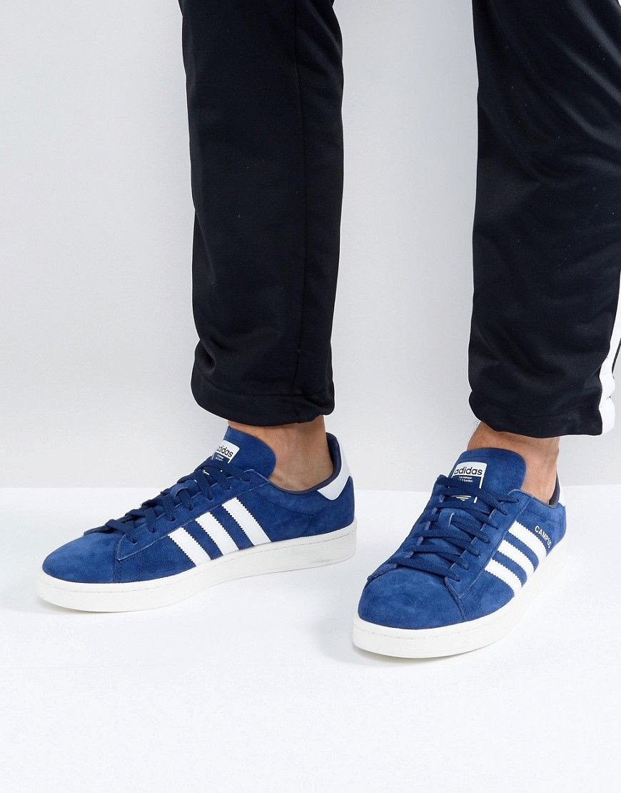 new product 14a4d fa30a ADIDAS ORIGINALS CAMPUS SNEAKERS IN BLUE BZ0086 - BLUE. adidasoriginals  shoes