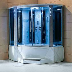 One Piece Corner Shower Stalls | Luxury Corner Steam Shower ...