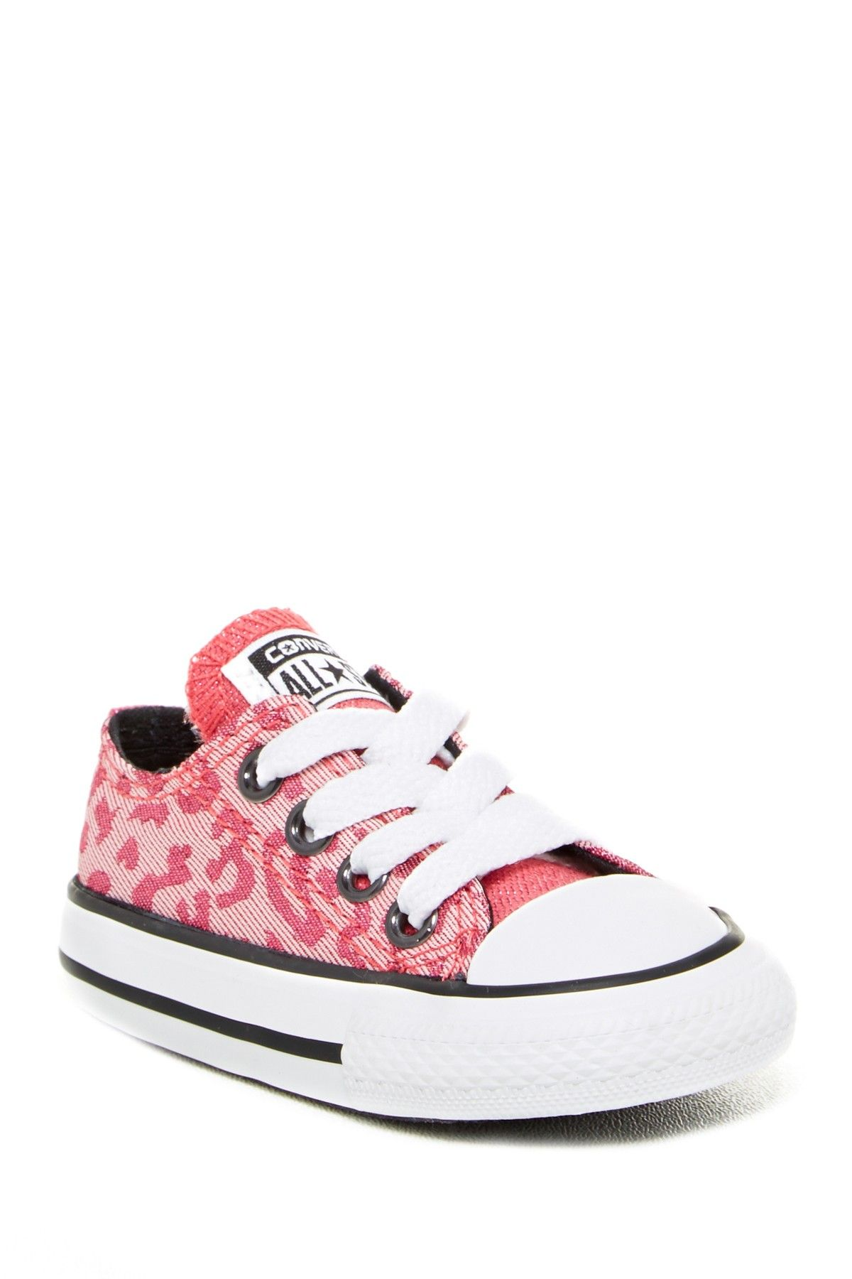 2e7b18fdaf0c3b Chuck Taylor All Star Metallic Leopard Oxford Sneaker (Baby   Toddler) by  Converse on  nordstrom rack