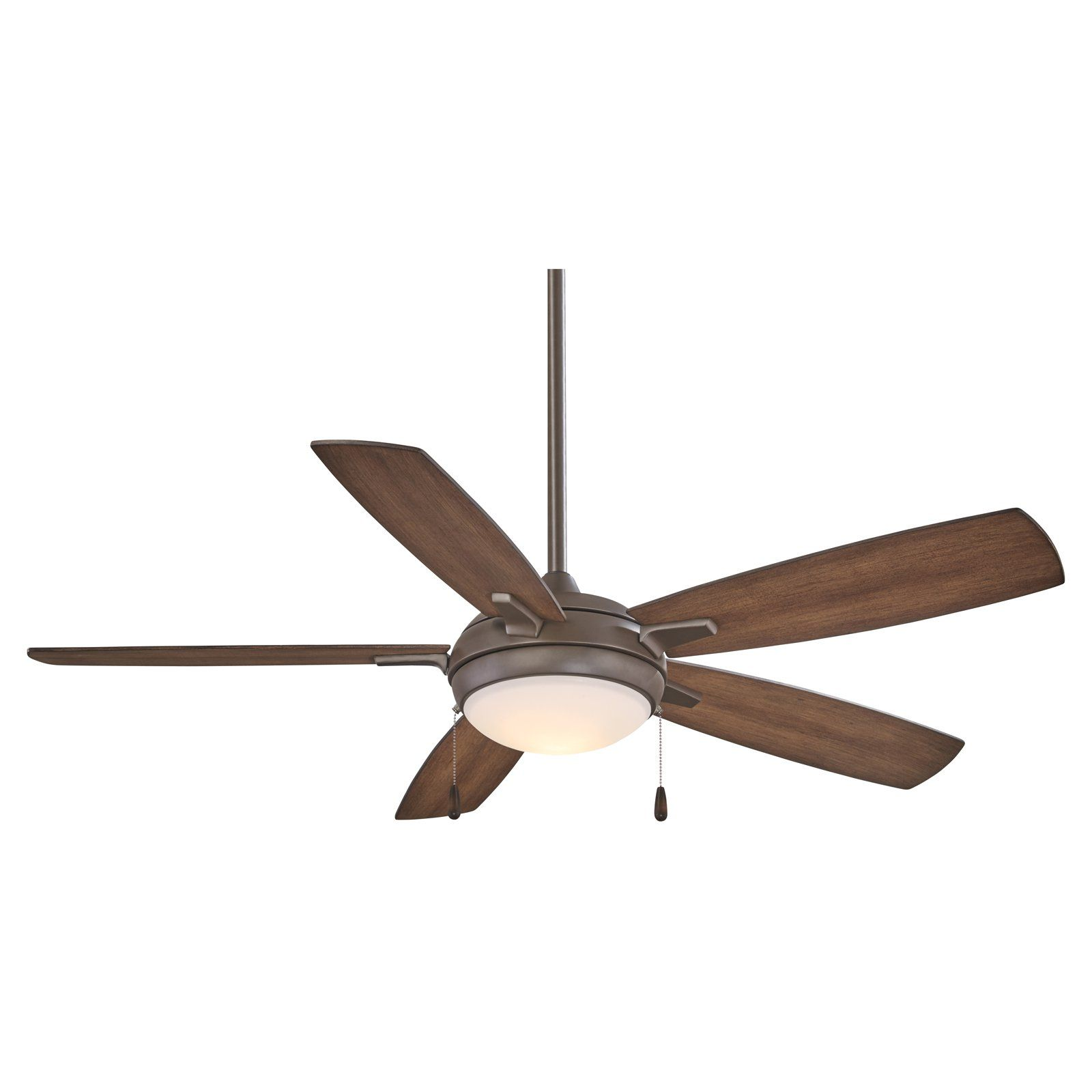 Minka Aire Lun Aire Ceiling Fan With Light Ceiling Fan Bronze