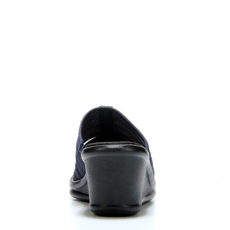 53ab2213072d Skechers Women s Rumblers Hot Shot Wedge Sandals (Navy) - 5.0 M