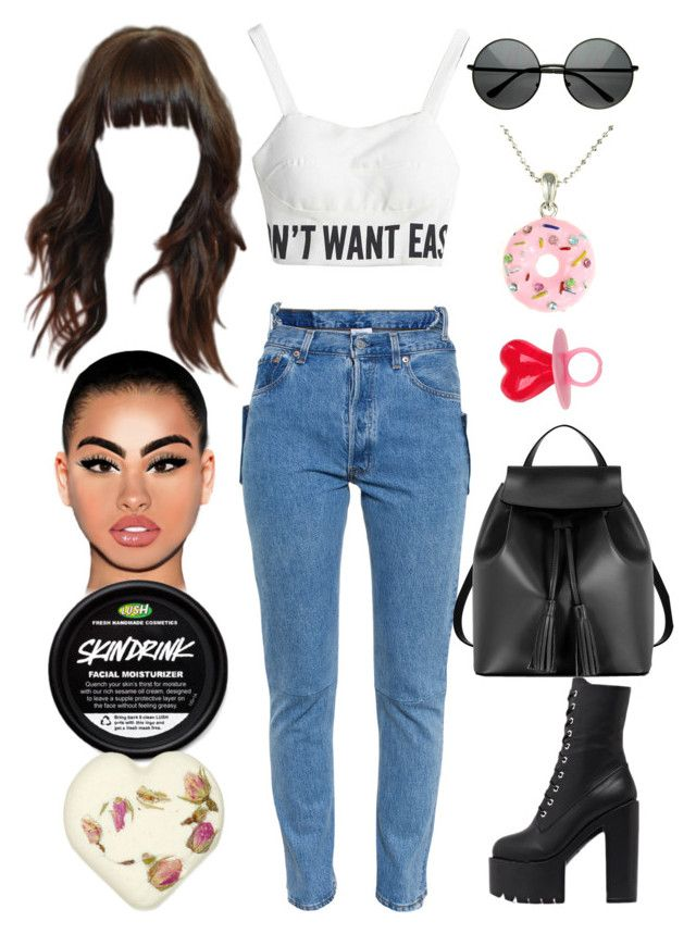 """""""Judge's House: September 21"""" by allison-syko ❤ liked on Polyvore featuring Vetements, Le Parmentier and MLC Eyewear"""