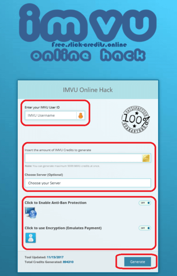 Free Imvu Credits Hack No Survey No Password Free Imvu Credits Hack -