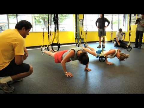Watch the staff at Fitness Anywhere, Inc. take on the TRX 40/40 Challenge. Check out our scores and try out the challenge for yourself. Grab your TRX and attempt 40 Atomic Push-ups and 40 Low Rows for an excellent total body workout.