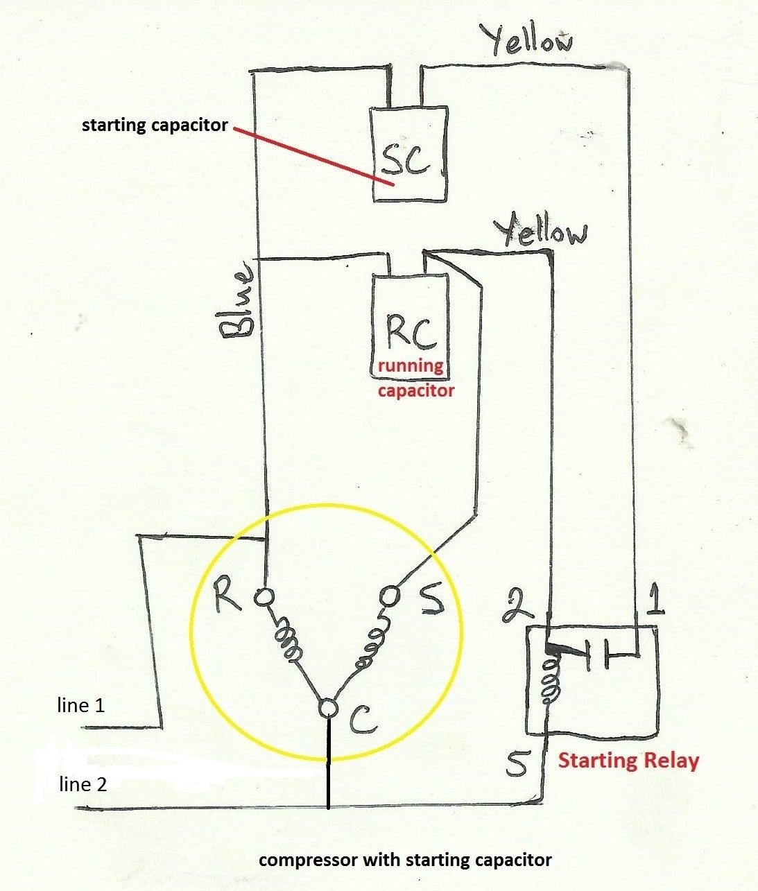 Ge Motor 5kc 45pg1f Wire Diagram Unique In 2020 Capacitors Electrical Wiring Diagram Electrical Circuit Diagram