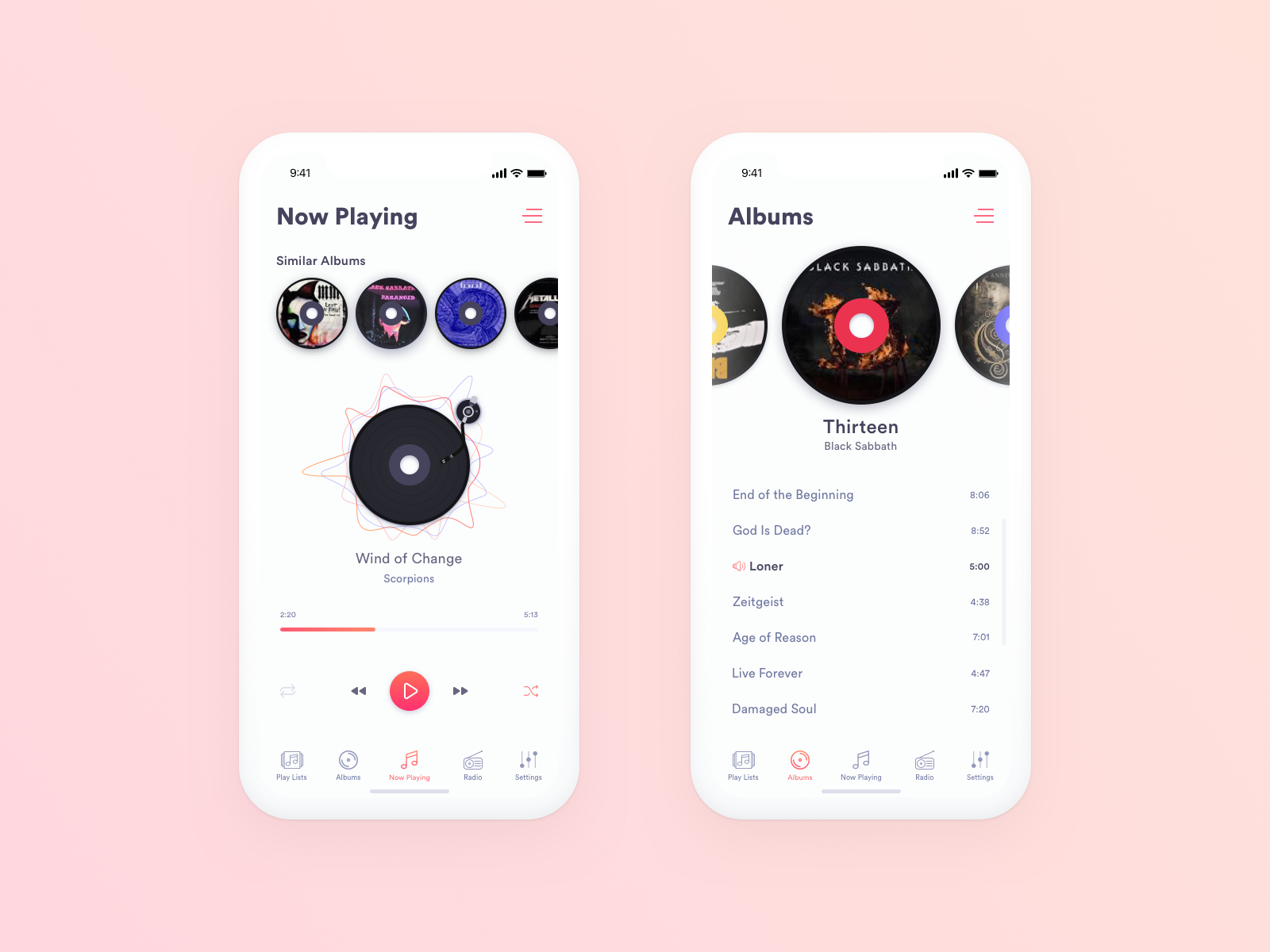 Music Player Preview Music Player Design Music Players Music Player App