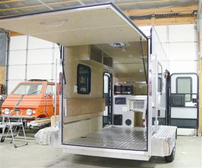 Micro Lite Car Go Lite Xtreme Toy Hauler Camper Small
