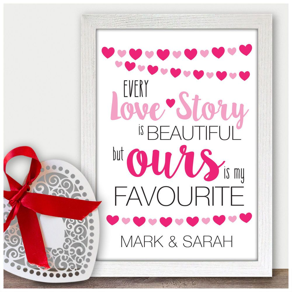 Personalised 1st Wedding Anniversary Gift Ideas For Him
