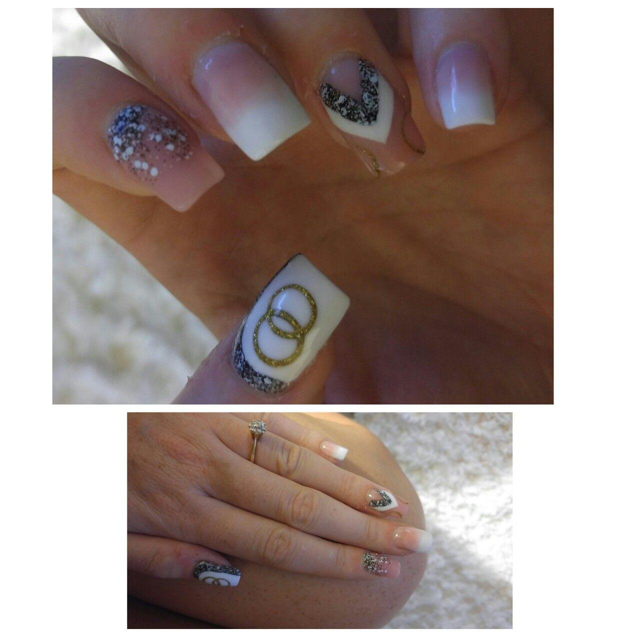 Bachelorette Nails / Bachelorette party / Nail Designs