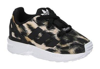Adidas ZX FLUX EL I beige lage kinder sneakers