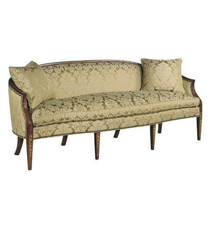 Fine Baltimore Sofa From The Albert Sack Collection By Hickory Creativecarmelina Interior Chair Design Creativecarmelinacom
