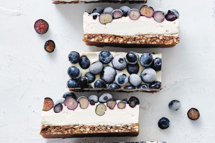 Vegan Lemon  Blueberry Cheesecake  JSHealth by Jessica Sepel Vegan Lemon  Blueberry Cheesecake  JSHealth by Jessica Sepel