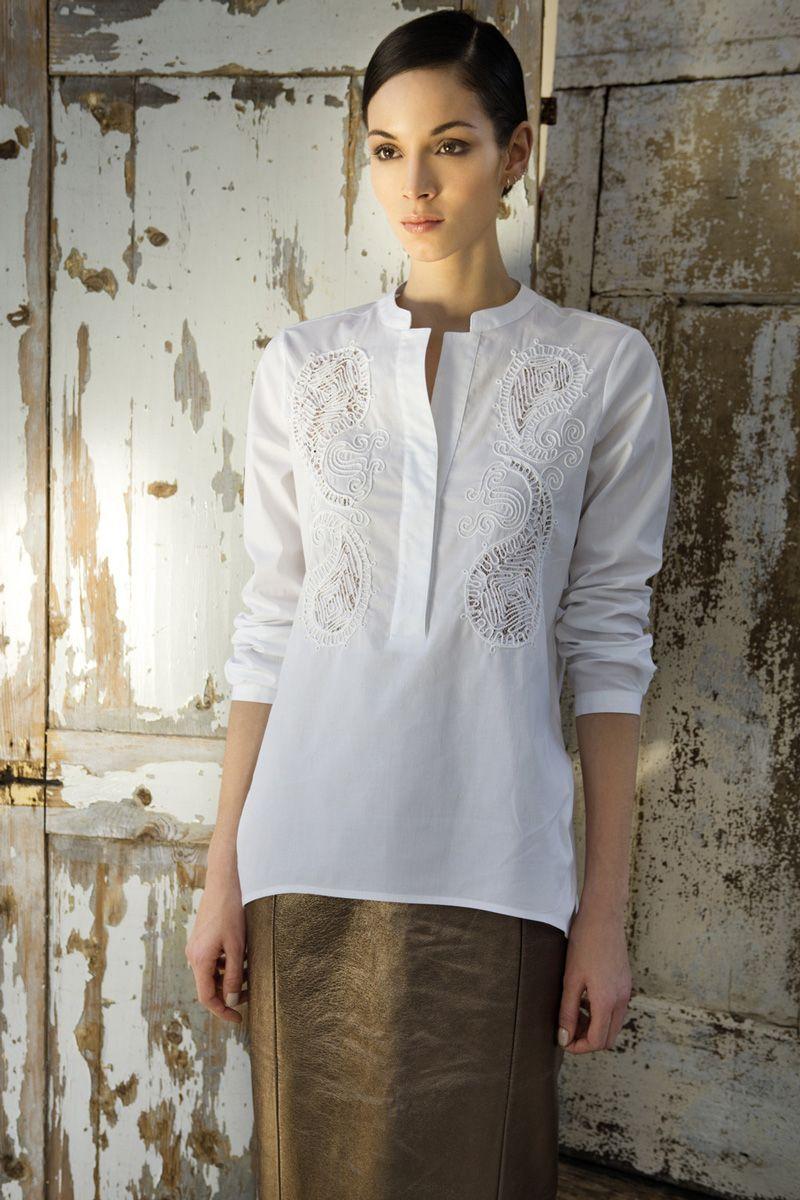 15+ Modelli di camicie femminili inspirations