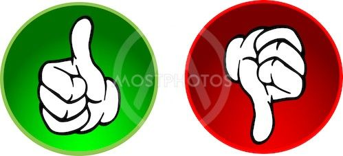 Vector Clip Art Online Royalty Free Public Domain Thumbs Down Healthy Party Ware